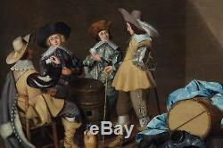 17th Century Dutch School Workshop Of Antony Palamedesz (1601-1673)