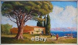 1930 Table Bay Marine Boat Blondel Gulf Provence Mediterranean Sea Mas Pin