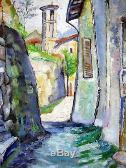 Alfred Lombard (1884-1973) Fauvism Marseille Provence Signed