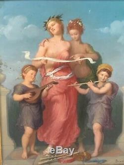 Allegory Of Music Painted By Brunel