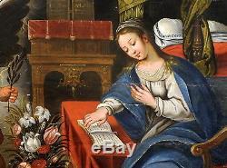 Antwerp School Ca. 1600 Annunciation