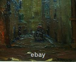 Basile Netchitailoff 1888-1980 Ruelle En Provence. Russian Painter On The Side. Lapchin