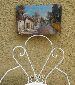 Beautiful Impressionniste Nineteenth. Road Provence. Paul Guigou, Felix Ziem