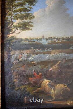 Breydel Karel Carel Says Cavalier Chevalier Battle Scene Signed XVII XVIII