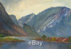 Cécile Fromont, Lake Landscape, Mountain, Jura, Lons-le-saunier, Clervaux