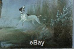 Charles Gabriel Gauthier (1802-1858), Duck Hunting, Dog, Romance