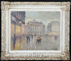 Charles Paul Renouart, Paris Opera Garnier, French School Late Nineteenth