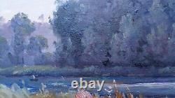 Charles Theodore Balké (1875-1951) Landscape Yonne 1931