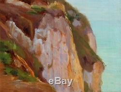 Charles Wislin, Sea, France, Painting, Table, Impressionist, Landscape Boats