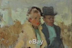 Couple In Paris, Pierre Grisot (1911-1995)
