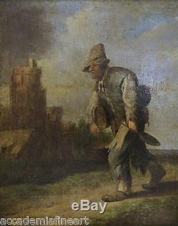 David Teniers II (1610-1690) The Villager
