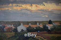 During Marine Landscape Post Impressionist XX