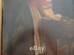Dutch School Oil On Panel 18th Woman Washerwoman Washerwoman