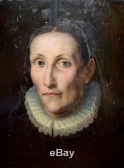 Dutch Woman Portrait Mannerist Netherlands School North XVI 16th