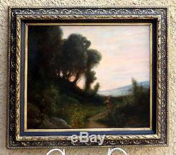 Félix Ziem 1821-1911 Large & Beautiful Barbizon With Beautiful Orientalist Effect
