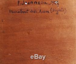 Fernand Jeanneau Table Bizerte Tunisia Marabout Sidi Hassoun Painter Pont Aven