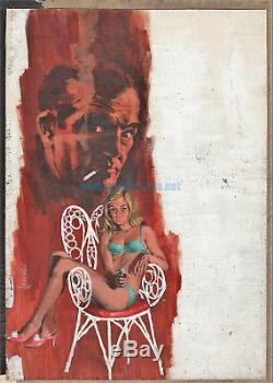 Fernando Fernández Original Cover Signed Oil On Wood Fbi Nº 71