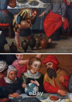 Flemish School 16th, Workshop Martin Van Cleve, The Marriage Of Cana