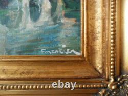 Forestry Very Beautiful Oil The Old Bezier Pont