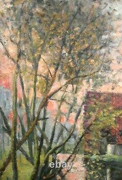 Former Landscape Painting Impressionist French School End Xixth