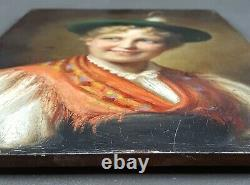Former Painting Alois Binder (1857-1933) Painting Oil Antique Painting Gemälde