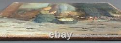 Former Painting Carl Werlemann (1880-1937) Painting Oil Antique Oil Painting