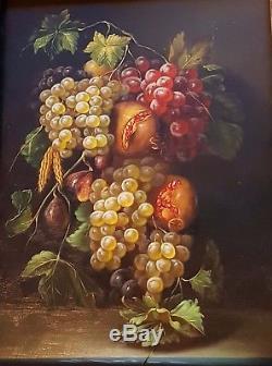 Framed Fruit Still Life