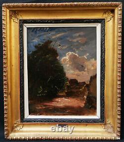 François Auguste Ravier Painter Lyonnais Painting Landscape Oil Sign Lyon Art