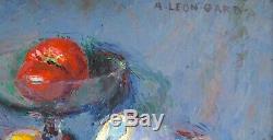 Gard Leon (1901-1979) Still Life With Tomatoes Toulon Paris Marseille Provence