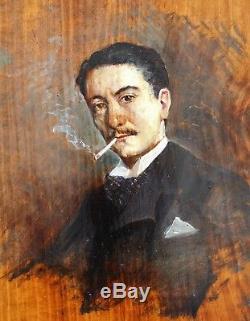 Giovanni Boldini, Portrait, Man, Painting, Portrait, Cigarette, Impressionism