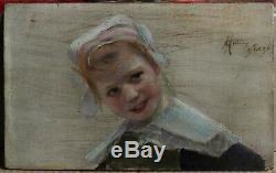 Girl With Headdress, 1890