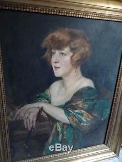 Great Female Portrait Painter Wilhelm Viktor Krausz