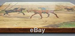 Henry-louis Dupray (french, 1841-1909) Old Oil Painting Original Painting