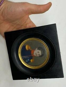 Hippolyte Chapon (c. 1790-) Military & Miniature Portrait & Painting & 1824