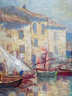 Hsp By Pierre Forest (1881-1971), The Mirror To The Martigues Birds