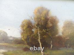 Hsp Old School Landscape 19th Framed Dlg Dlg Barbizon Galen Laloue Dupuy