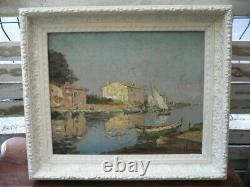Huile On Panneau Hst Signee Joseph Hurard Impressionist Impressionism Mahogany