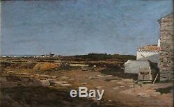 Ile D'yeu August 1887, Victor Lucien Richard (1848-1916)