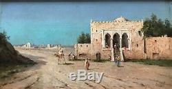 Inoel Splendid Table XIX Stop Painting Orientaliste Mehari Caravanserai