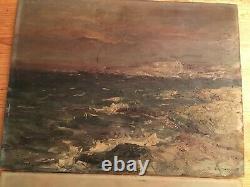 Isailoff Alexander (1869-) Oil On Panel