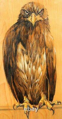 Jacques Nam, Eagle, Bird, Painting, Animals, Art Deco, Art Nouveau, Paul Jouve