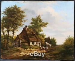 Jan Bernard Devriendt Vriendt Of Ghent Picture Belgian Landscape Painting Belgium