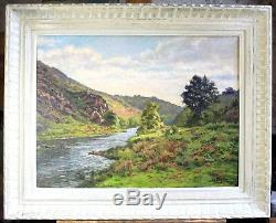 Jean-georges Pasquet, Creuse, Anzème, Painting, Crozant, Painting, Landscape, School