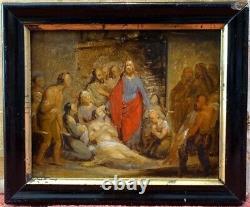 Joseph Coomans, 1840, Bénézit, Cote Enorme! Miraculous Healing