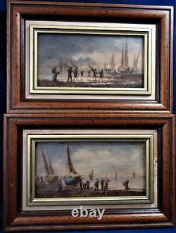Josephine Mary Pair Marine Oils / Panels Ref / A27 / 19
