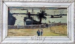 Lalgerie Des Peintres & The Balcony Of Port D'alger 1928. Charming Orientalist