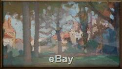Landscape Painting Joseph Berges (1878-1956) 1910