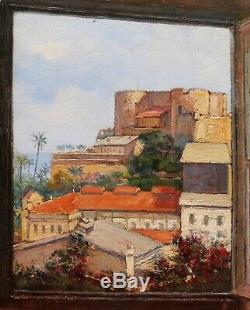 Leo Vilhar Slovenian Painter Oil Painting Slovenia Landscape Côte D'azur Algeria