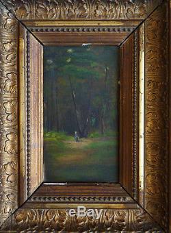 Little Painting Of The 19th Century Barbizon School 19th Century Painting