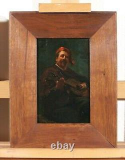 Marcel Arnaud Portrait Painting Man Cézanne Guitar Impressionism Music